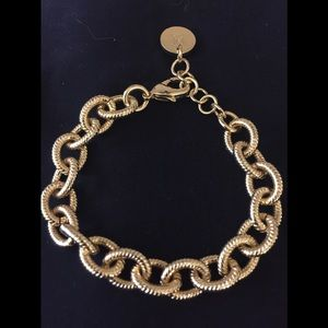 Jewelry - Gold-tone bracelet -made in Italy